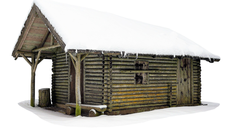 Cabin Cottage Snow Wooden House  - jean52Photosstock / Pixabay